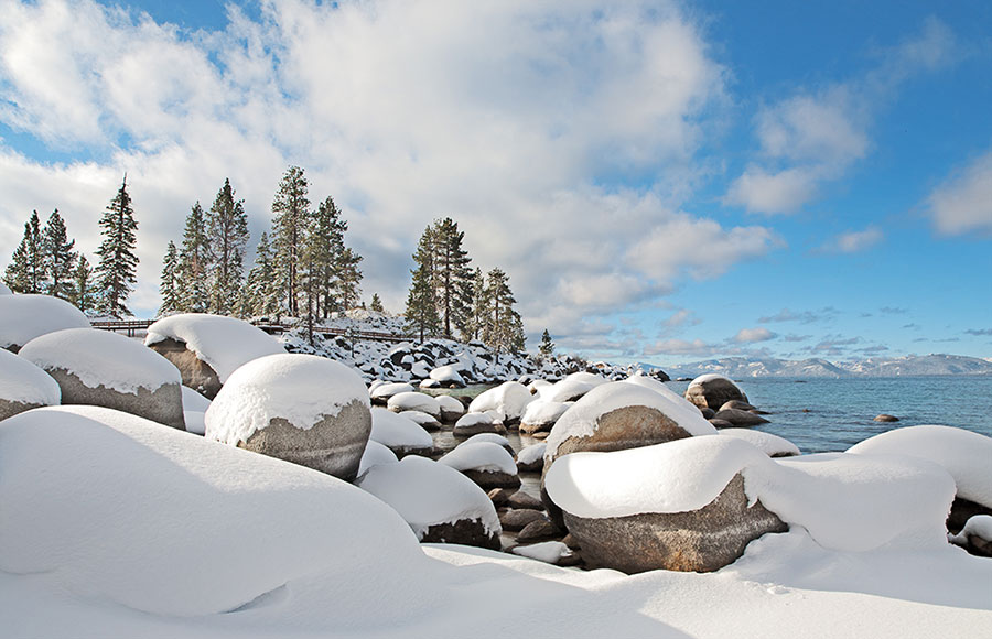 Sand Harbor Snow4889