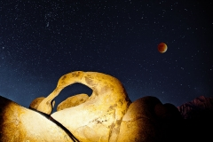 Mobius Arch Blood Moon